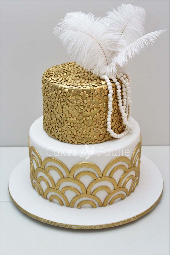 Birthday Cake – Gatsby Theme
