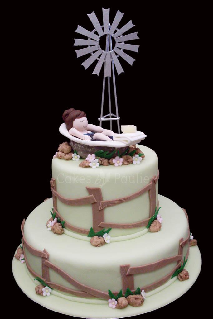 Birthday Cake –  Janelle