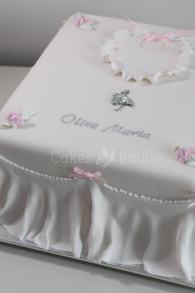 Christening Cake – Olive-Maria