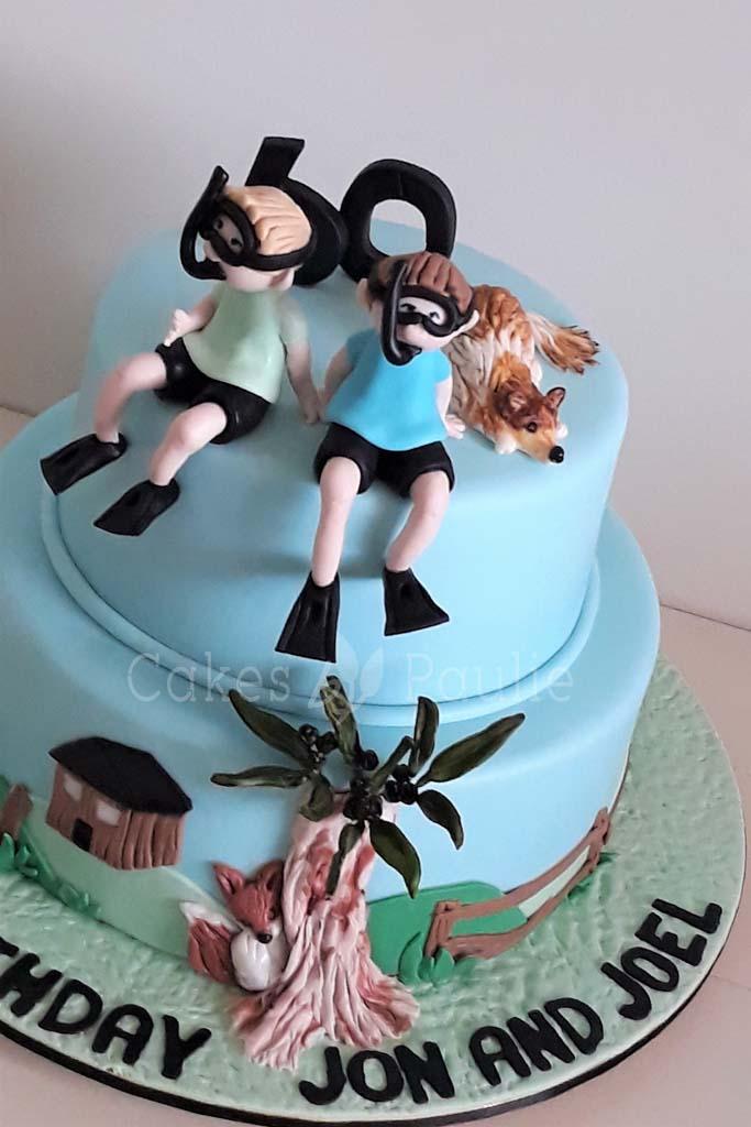 Birthday Cake – Jon and Joel